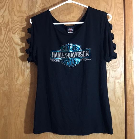 Harley Davidson INDIA Open Sleeve Tee